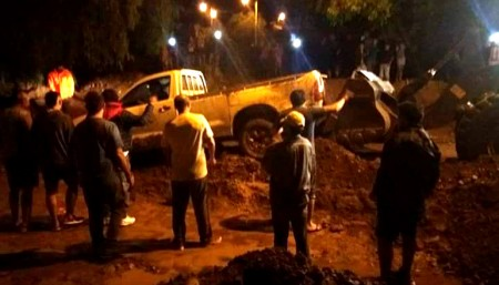 Se continúa asistiendo a los afectados por el temporal en Calingasta
