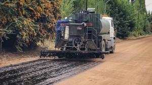 Mejoras para la red vial en Barreal