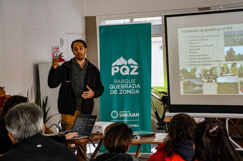 """El Parque Quebrada de Zonda presenta el ciclo de charlas """"Dejá tu Huella"""""""