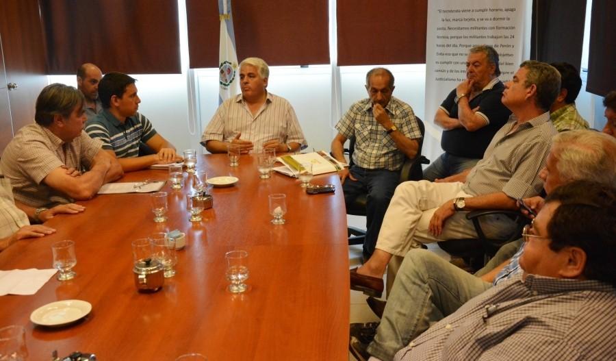 Sesionó la Mesa de Consenso Vitivinícola