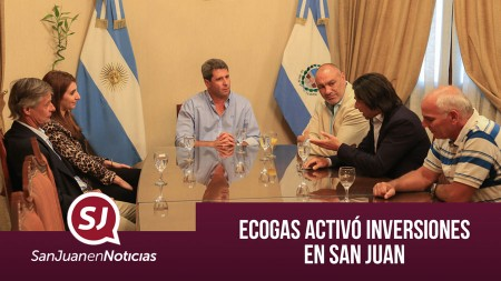 Ecogas activó inversiones en San Juan | #SanJuanEnNoticias
