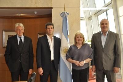 Reunión con la Canciller argentina