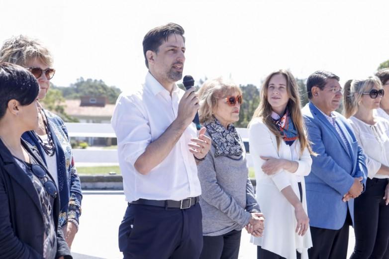 """De Los Ríos rubricó la """"Declaración de Chapadmalal"""""""
