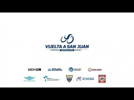 Seguí en vivo la conferencia de prensa por el lanzamiento de la 38º Vuelta Ciclística a San Juan 2020