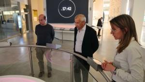 Dos profesores de Arquitectura de la UBA visitaron Anchipurac