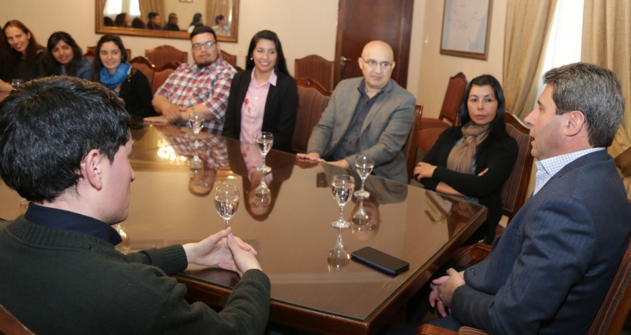 Visita de jóvenes de la Tecnicatura Universitaria de Administración Pública de Rodeo