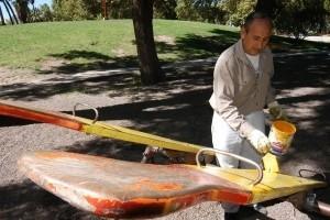 Más obras de mantenimiento en el Parque de Mayo