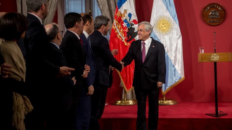 El gobernador Sergio Uñac participó de una audiencia con Sebastián Piñera