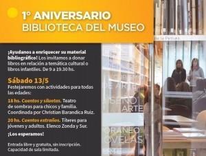 El MBPA festeja el primer año de su biblioteca