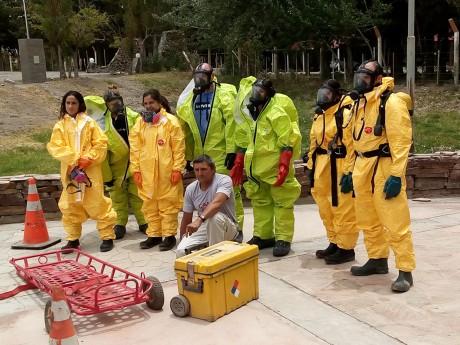 Personal de Minería recibió capacitación en prevención y respuestas a emergencias