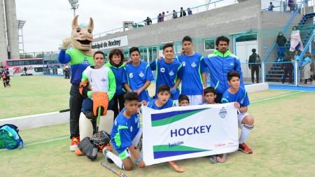 Las Escuelas de Iniciación Deportiva estuvieron presentes en los Evita