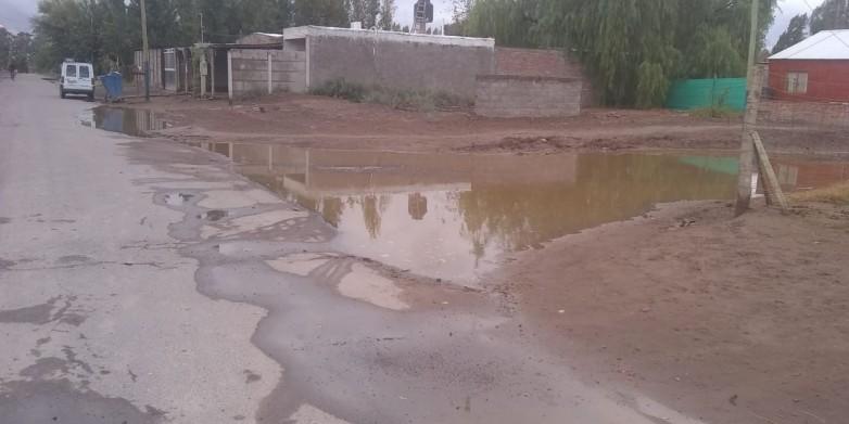 El Gobierno asistió a varias familias afectadas por el viento y la lluvia