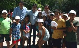 Desarrollo Humano recorrió las Colonias de Verano de San Martín