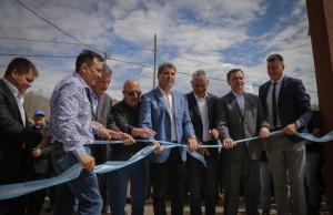 Sergio Uñac inauguró una subsede de AOMA en Los Berros