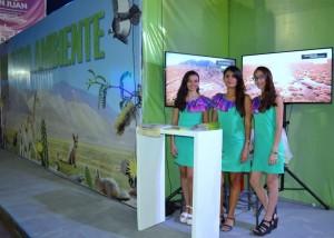 Los sanjuaninos aprovechan la FNS para mejorar sus espacios verdes
