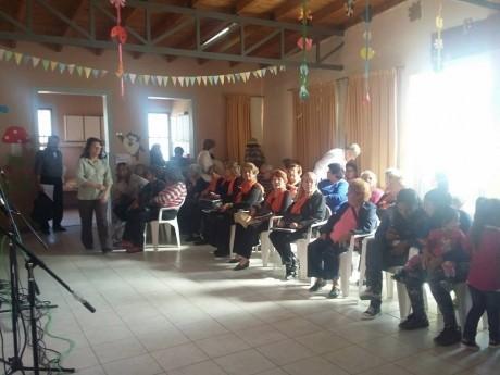 Tarde Cultural para los Adultos Mayores de Cochagual (Sarmiento)