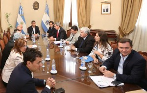 El gobernador Sergio Uñac se reunió con su gabinete