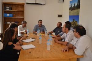 El ministro de Minería realizó un recorrido por Calingasta