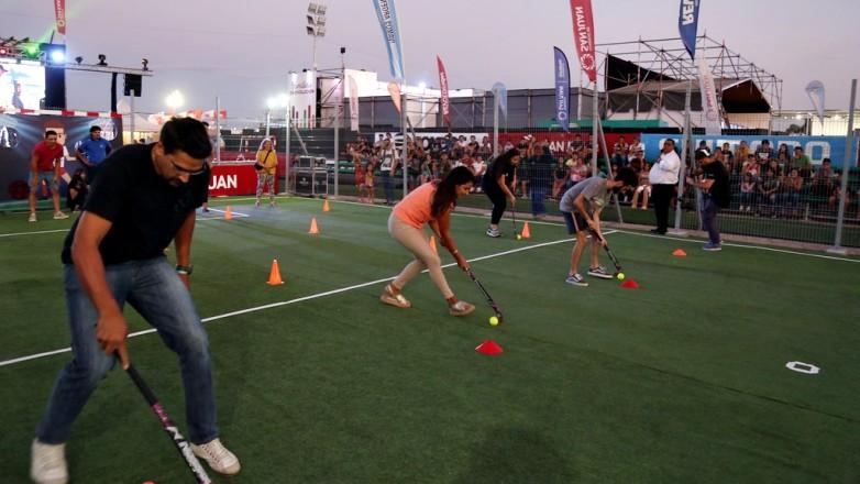 Se viene la noche de hockey y rugby en el stand de Deportes