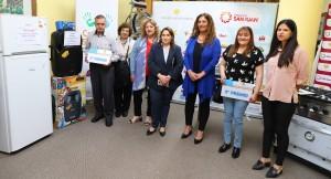 La CAS entregó los premios de cupones no premiados de agosto