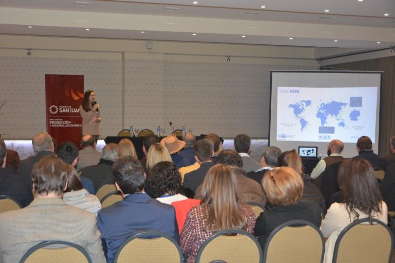 A través de un programa internacional expertos alemanes asesorarán a empresas sanjuaninas