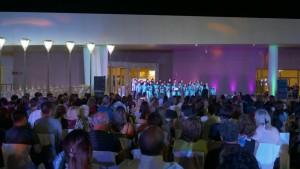 """Cantando por la Paz en el mundo"" llegó a Anchipurac"