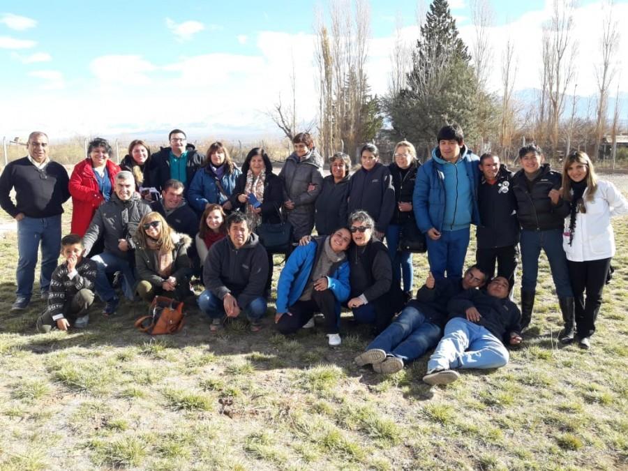 Calingasta: visita de la Dirección de Discapacidad para realizar actividades inclusivas