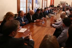 Jáchal e Iglesia firmaron convenios de gestión agrícola