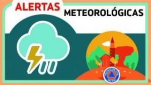 Alerta Meteorológica N° 17 - Probabilidad de lluvias aisladas