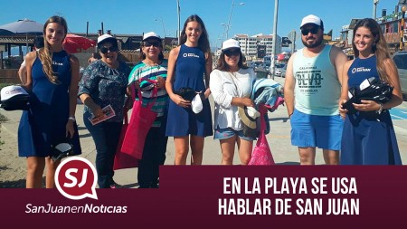 En la playa se usa hablar de San Juan | #SanJuanEnNoticias