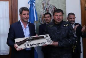 La Guardia de Infantería de la Policía de San Juan cumplió 70 años