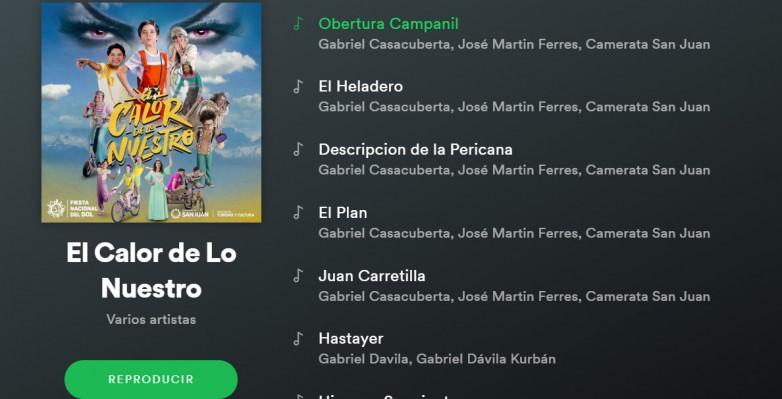 La banda sonora de El Calor de lo Nuestro ya está en Spotify