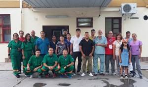 El Hospital Dr. Alejandro Albarracín de Valle Fértil se lució en la Vuelta a San Juan