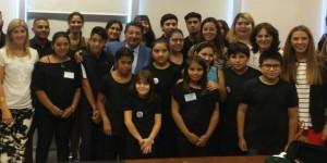 Orquestas y coros escolares vestirán de sonidos el stand de Educación en la FNS