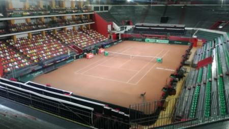 El Estadio Aldo Cantoni listo para recibir a la Copa Davis
