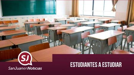 Estudiantes a estudiar | #SanJuanEnNoticias