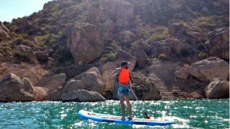 El turismo aventura crece en Zonda de la mano de emprendedores