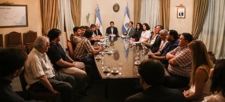 Reunión con integrantes de la Comisión de Justicia y Paz