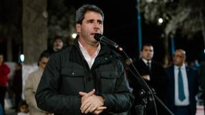 Uñac inauguró obras de iluminación y un playón deportivo en Albardón