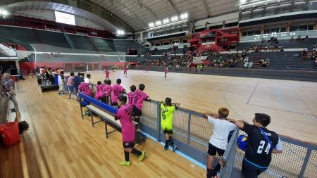 Las inferiores del futsal sanjuanino coparon el Aldo Cantoni