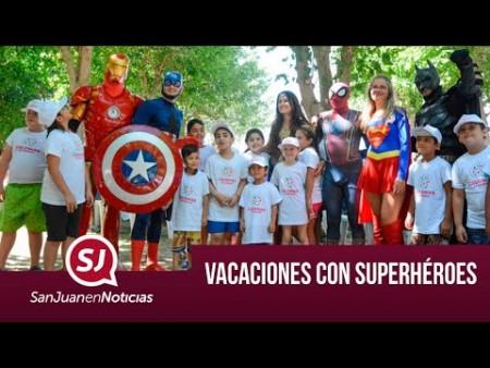 Vacaciones con superhéroes| #SanJuanEnNoticias