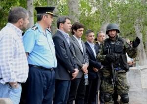 Maniobras del Grupo Especial de Rescate, Ayuda y Seguridad