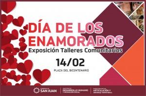 Feria de Talleres Comunitarios para el Día de los Enamorados
