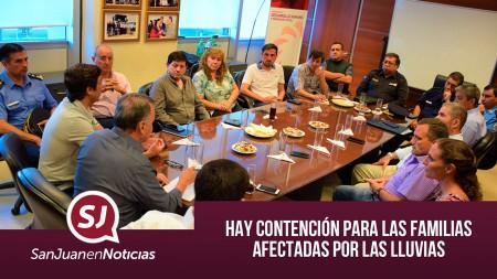 Hay contención para las familias afectadas por las lluvias | #SanJuanEnNoticias