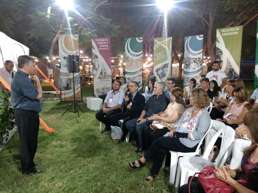 Claudio Larrea destacó la importancia de la Difunta Correa para la cultura de San Juan
