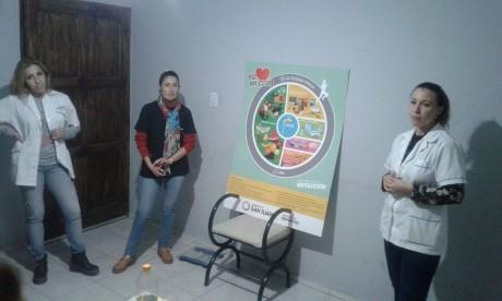 Sarmiento recibe al equipo de nutricionistas de Deportes