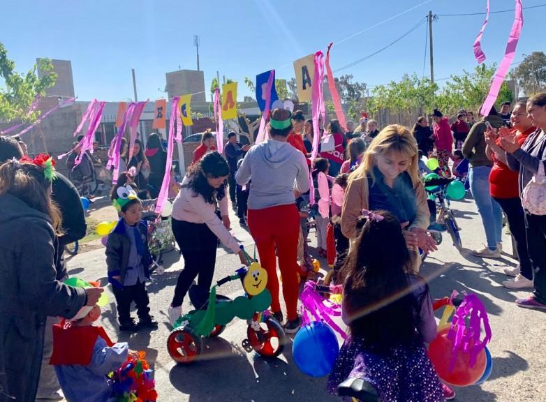 Los Jardines de Infantes celebraron su semana con gran participación comunitaria