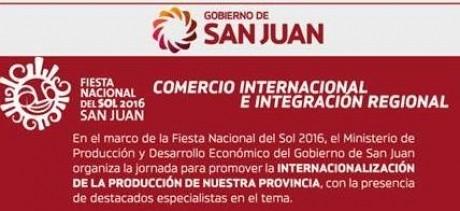 Hacia la internacionalización de la producción sanjuanina