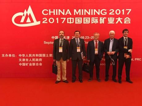 San Juan despertó interés en China Mining