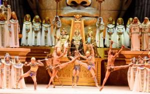 Aida conquistó a los sanjuaninos con un magnífico espectáculo
